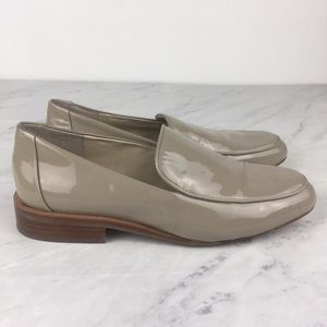 Louise Et Cie Beige Patent Leather Loafers